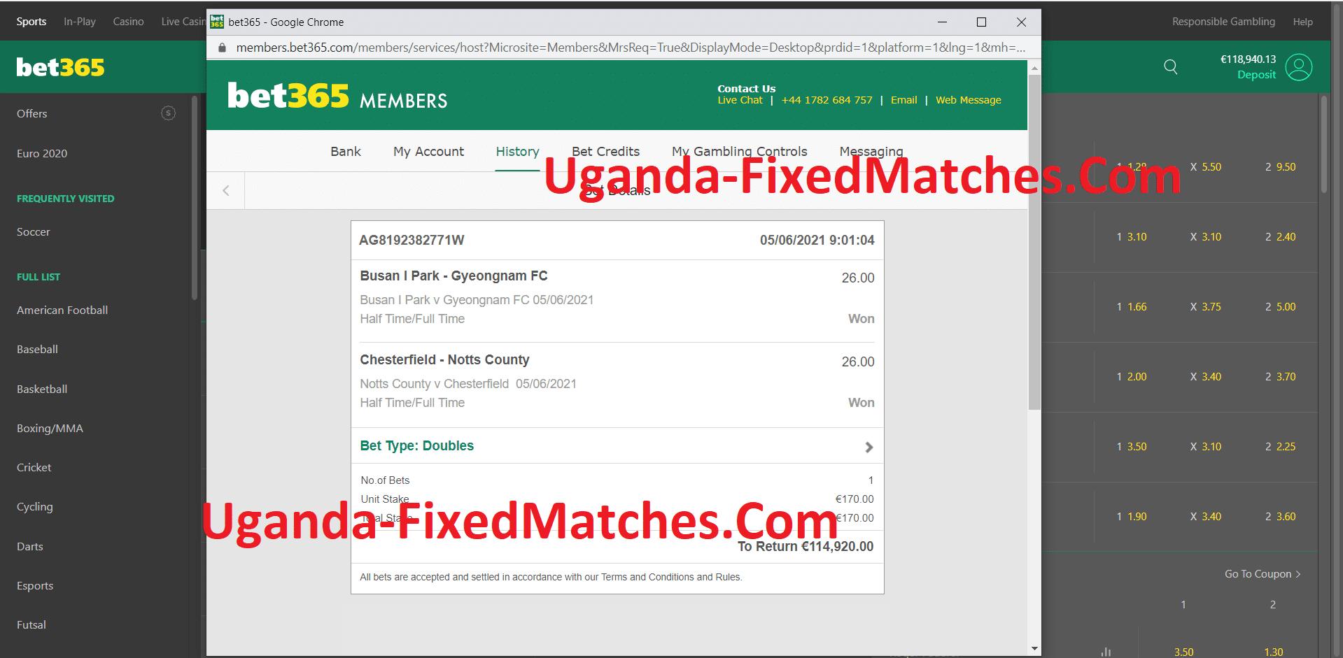 World Football Fixed Matches
