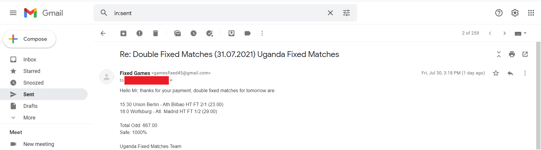 sport info fixed matches