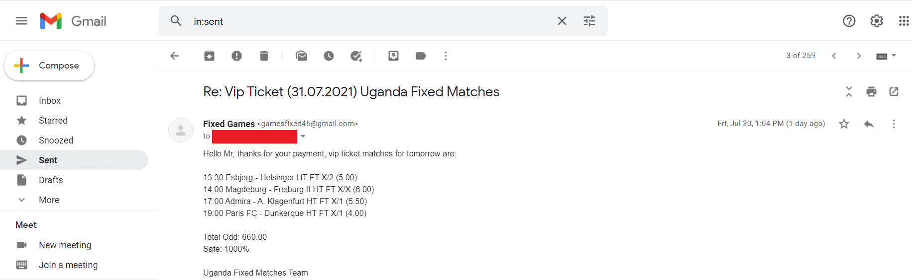fixed matches news