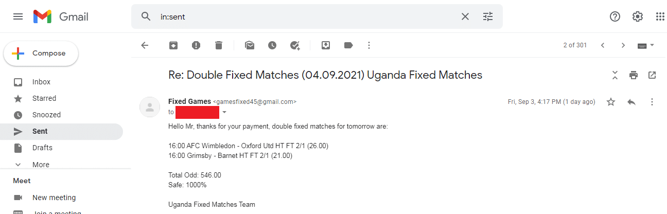 Kenya Fixed Matches