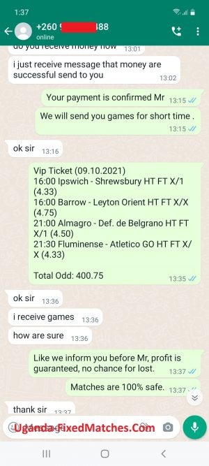 22Bet Fixed Matches