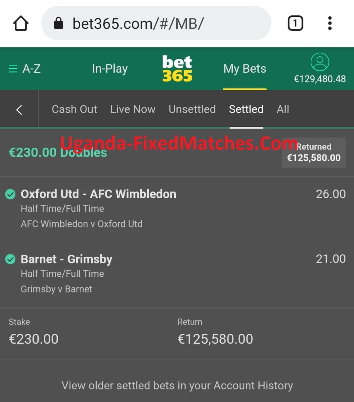 Nigeria Fixed Matches