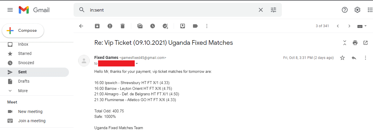 Soccer Picks Fixed Matches
