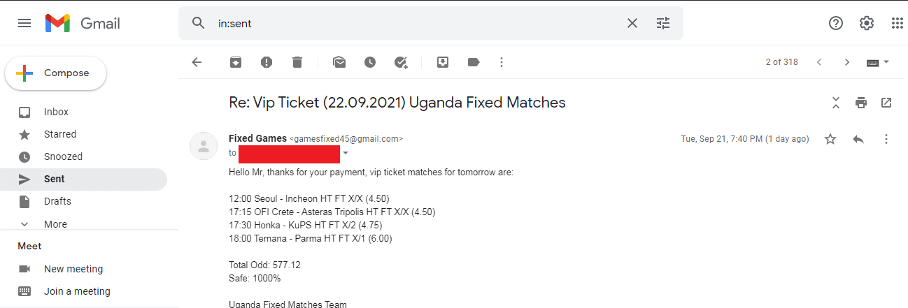 safe fixed matches