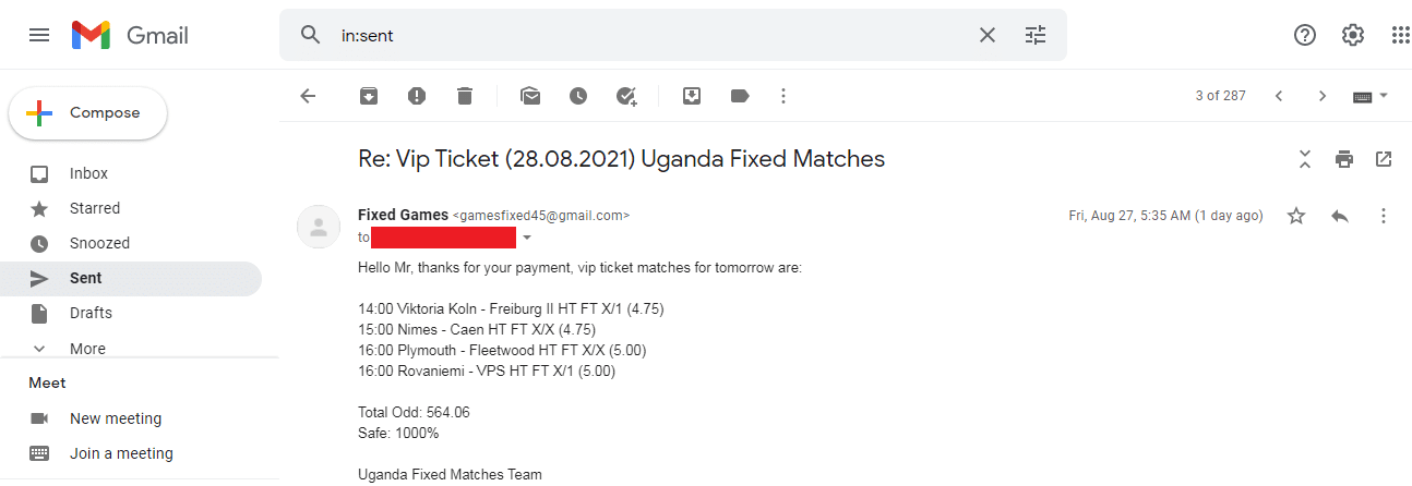 Learn Fixed Matches